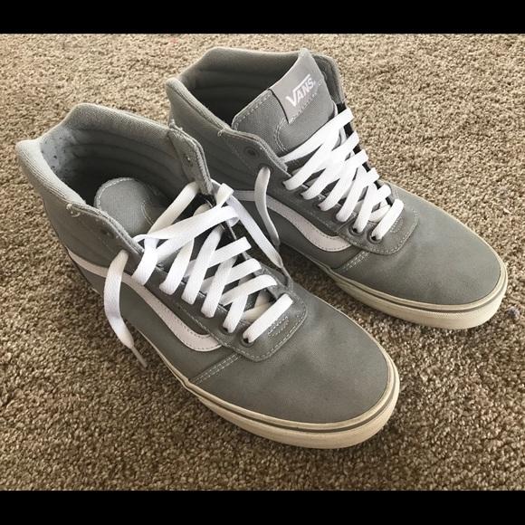 782c337f33 Vans Grey Ward High Top Shoes - Size 10. M 5b60fac98158b545c1e29486